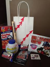 Personalized Cracker Jack Boxes Baseball Themed Party Favor Bag Includes Dollar Store Bubbles