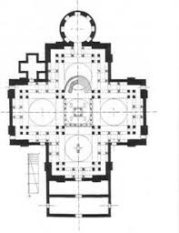 greek cross floor plan san vitale ravenna the plan both longitudinal and centralized they