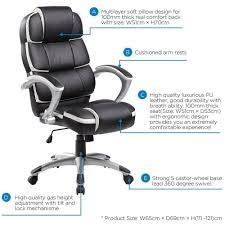 Good Desk Chair For Gaming by Amazon Com Merax New Executive Office Chair Lumbor Support Boss