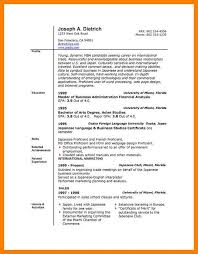 Resume Template Microsoft Office 6 Ms Word Resumes Delivery Challan