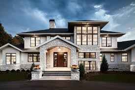 Traditional Meets Contemporary In Sophisticated Michigan Home - Modern home styles designs