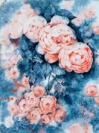 in her exquisite watercolors artist elena moroz celebrates the gentle vibrancy of flowers her painted daisies peonies and irises are but mellow