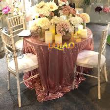 sequin table runner wholesale factory direct wholesale 10pcs wedding decorative rose gold glitter