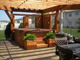 triyae com u003d backyard tub privacy ideas various design