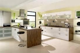 kitchen stylish modern white and black gloss color kitchen