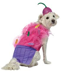 this cute cupcake dog costume features the cute one piece dress