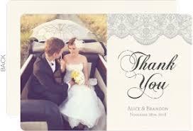 wedding photo thank you cards wedding thank you cards