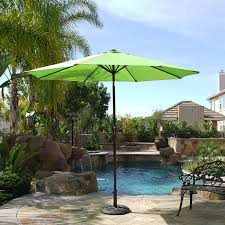 Umbrella Tilt Mechanism Parts by 9 U0027 Ft Steel Outdoor Patio Umbrella Market Yard Beach W Crank Tilt