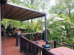 deck pergola with retractable canopy tags awesome motorized
