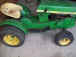 john deere 112 garden tractor for parts round fender 1967