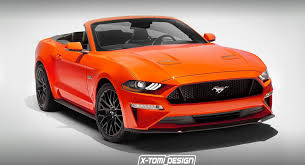 mustang convertible uncovering the 2018 ford mustang convertible on photoshop