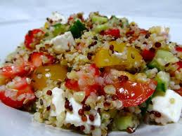 comment cuisiner le quinoa recettes recette de taboulé au quinoa dine move
