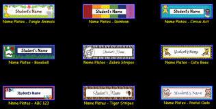 student name tags for desks printable name templates roberto mattni co