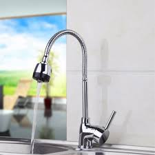 Designer Kitchen Tap Cold Water Pull Out Kitchen Faucet Polished Chrome Finish