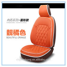 luxury leather auto car seat cover design comfortable heating car