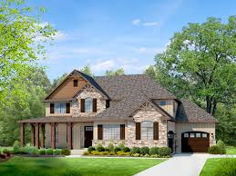 Luxury Craftsman Style Home Plans Mountain Rustic Two Story House Plan Houses Pinterest Story