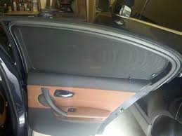 factory bmw f10 rear side window sun shade kit 100
