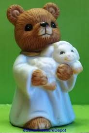 home interior bears 2 teddy bears homco home interior figurines