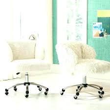 faux fur desk chair ivory desk chair stagebull com