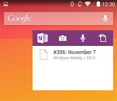 onenote app for android onenote for android updated it pro