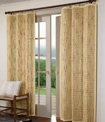 Bamboo Panel Curtains 84