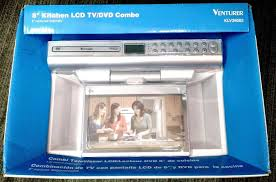 Tv For Under Kitchen Cabinet New Venturer Klv39082 8 Under Cabinet Kitchen Tv With Dvd Player