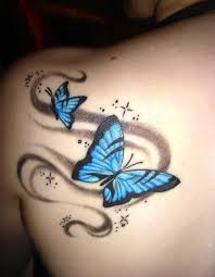 16 best butterfly back tattoos images on butterflies