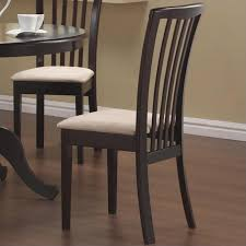 Slat Back Dining Chairs Coaster Brannan Slat Back Dining Chair In Rich Cappuccino 101082