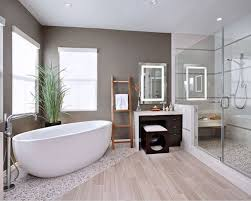Small Spa Bathroom Ideas by Create Your Very Own Spa In Your Bathroom Using Pebble Rock
