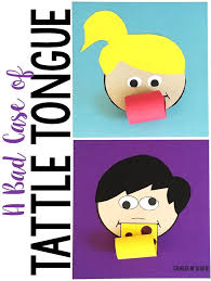 Best 25 A Bad Case Of Tattle Tongue Activities Ideas On Pinterest Tattle Tongue Coloring Page