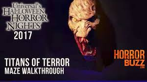 buy halloween horror nights tickets the titans of terror maze walk through universal studios
