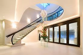 interior of modern homes interior modern with glass design house decor picture