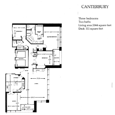 Canterbury Floor Plan by Brittany Tower Stratford
