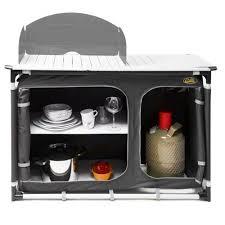 meuble cuisine caravane meuble de plein air meuble de cuisine plein avec évier et 2 étagères