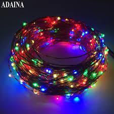 aliexpress com buy flash 30m 300 leds 12v copper wire led string