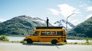 Rowdy bus goes north alaska road trip