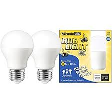 no bug light bulb miracle led yellow bug light max replaces 100w a19 outdoor bulb