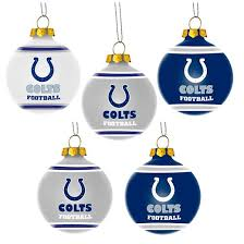 forever collectibles nfl 5 pack shatterproof ornaments target