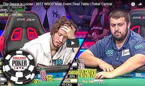 2017 world series of poker final table the deuce is loose 2017 wsop main event final table poker