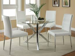 Silver Dining Room Set by Vance White Metal Dining Chair Steal A Sofa Furniture Outlet Los