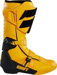motocross boots shift mx whit3 label motocross boots yellow manchester xtreme