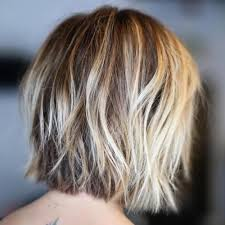 shaggy fine hair bobs 100 mind blowing short hairstyles for fine hair blonde balayage