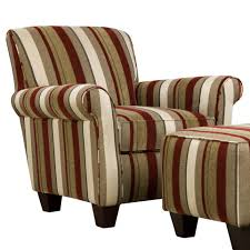 Striped Living Room Chair Chairs Stunning Rocking Accent Chair Photo Inspirations