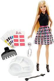 amazon barbie mix u0027n color barbie doll blonde toys u0026 games