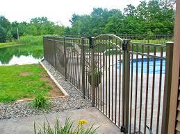 cost of alum furniture pleasing custom aluminum fence poly enterprises used