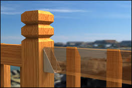raillok deck railing bracket for fence sections and rail
