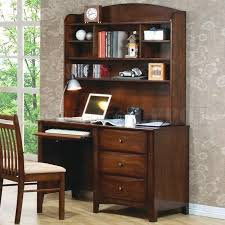 scottsdale 400287 desk w hutch in light coffee by coaster