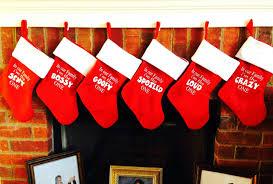 family christmas stockings red christmas stockings funny