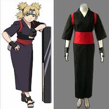 Halloween Costumes Naruto Japanese Anime Naruto Cosplay Temari Costume Woman Tradition