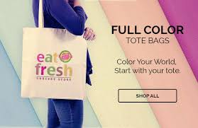 Personalized Cotton Candy Bags Custom Tote Bags Wholesale Prices Inkhead Com